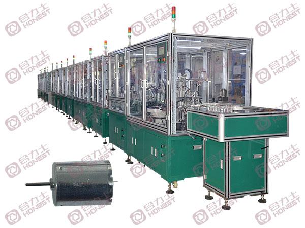 300号水泵电机生产线