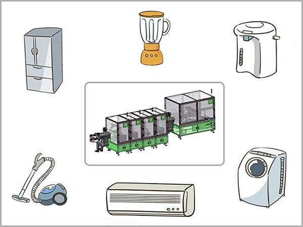 家电自动化设备解决方案