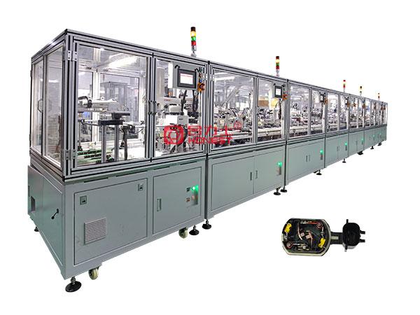 马达胶盖自动化组装设备
